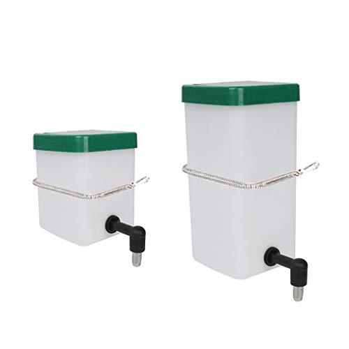 unknows Pet Waterer, fuente de bebida automática para mascotas, tipo bola de balanceo dispensador de agua alimentador para conejo de hámster