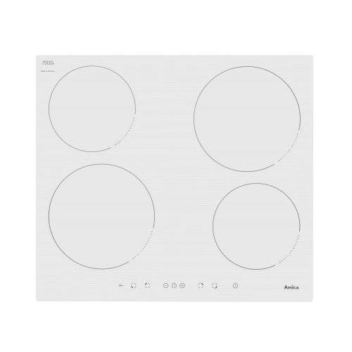 Amica 23283 Plaque (encastrable électrique/)/4 plaques de cuisson/51,8 cm/témoin indicateur de chaleur résiduelle