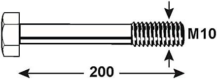 KL4088120 DIN 931 verzinkt Connex Sechskantschrauben M8 x 120 mm 1000 g
