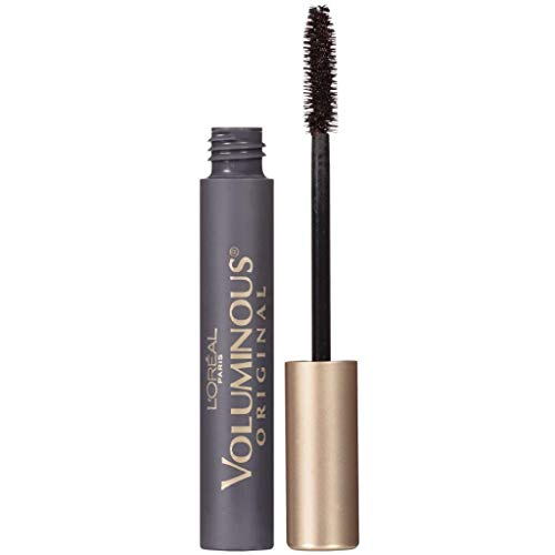 L'Oreal Paris Makeup Voluminous Original Volume Building Mascara, Blackest Black, 0.28 fl. Oz, 1 Count