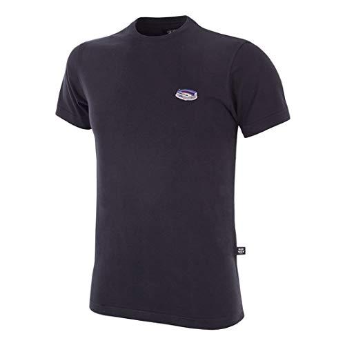 copa FC Barcelona Camp NOU T-Shirt Camiseta Cuello Redondo, Hombre, Negro, XL