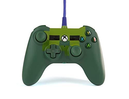 Mini manette filaire pour XboxOne de PowerA - Zombie Minecraft