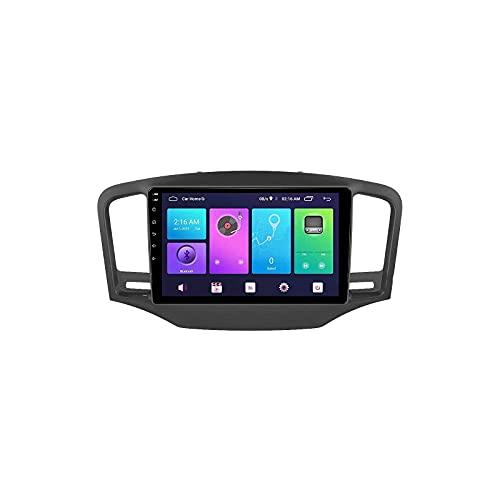 GPS Navegador GPS Coche Estéreo Pantalla táctil Bluetooth FM Am Receptor de Radio Reproductor de Video Musical para Roewe 350 2010-2015 con Controles de Volante WiFi, 8 núcleos 4G + WiFi: 2 +