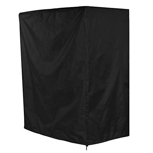 Regun BBQ-överdrag – vattentätt grillskydd grill gas grillskydd utomhus kraftigt skydd 97 x 56 x 112 cm (svart)