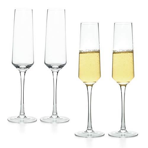 COYMOS Champagne Flutes Set