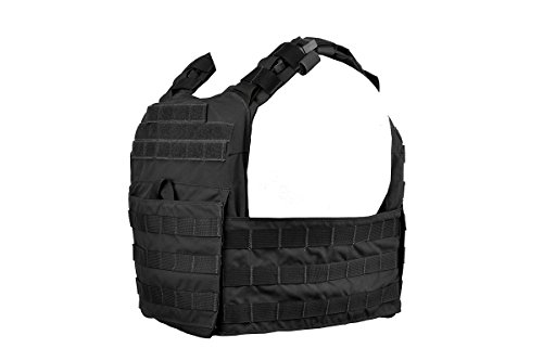 Condor Outdoor Cyclone Lightweight Plate Carrier Vest - Black - One Size