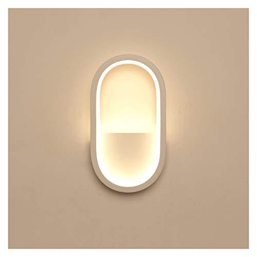 Lámparas pared Interior Moderno minimalista dormitorio paredes de paredes de la cabecera LED LED Lámpara de pared Creativa Sala de estar Escalera Balcón Balcón Muro Wall Sconence Lighting Fixture Apli