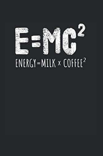E MC Energy Milk Coffee | Kaffee Essen Tagebuch: Essenstagebuch Notizbuch A5 120 Seiten liniert