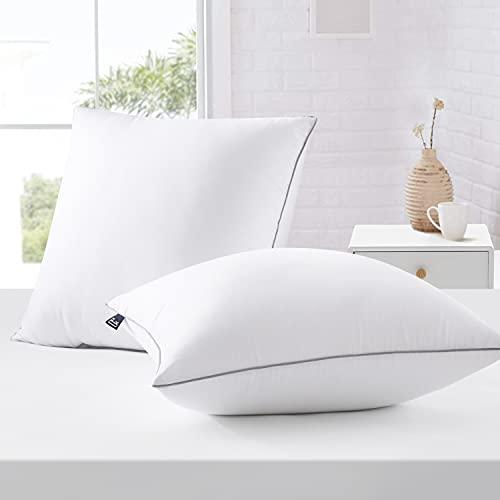 BedStory Kopfkissen 80x80, Kissen 2er Set aus Hochwertigen Mirkofarsen Füllung 1500gx2 , Effektive Unterstützung für Alle Schlafpositionen,Bequmer Weicher und Atmungsaktiver Kissen