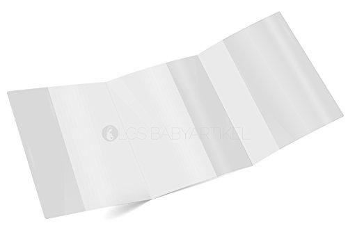 Mutterpasshülle 3-teilig transparent Mutterpass Schutzhülle Blanco (1 Stück)