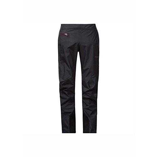 Bergans VENGE tind–Pantalón para mujer, color Black/Plum, tamaño medium