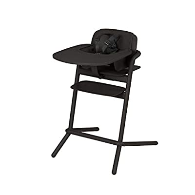 CYBEX LEMO 4-in-1 High Chair, Standard, Infinity Black