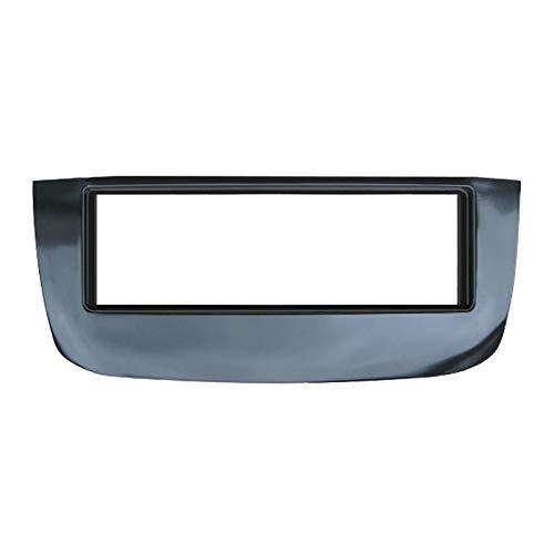 Feeldo Car un DIN radio CD stéréo Façade d'autoradio pour Fiat Evo plaque visage Cadre de tableau de bord Garniture kit d'installation