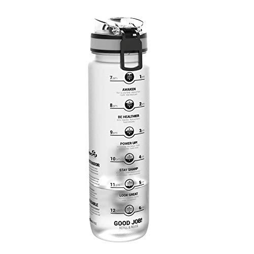 ion8 Auslaufsichere 1 Liter Sport Trinkflasche, BPA-frei, EIS