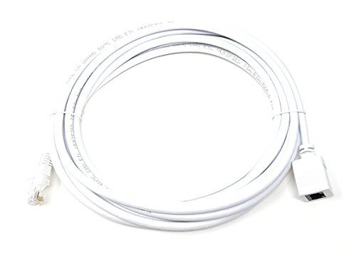 MainCore Cable de extensión de 3 m de largo CAT6 Ethernet RJ45...