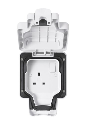 Masterseal Plus, MK-RU K56486WHI, Presa elettrica, 13 Ampere Plus Masterseal