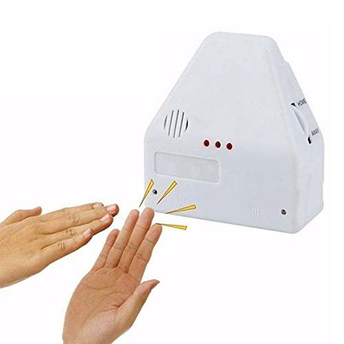 GHMPNLG Adaptador de Salida de zócalo de Pared, Interruptor de luz Inteligente, Interruptor Activado de Sonido, 110 voltios, para Cocina/Dormitorio/TV/aparatos