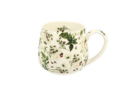 Una tazzina da caffè con un bellissimo motivo floreale in porcellana da 400 ml in una confezione regalo - Wild Rose (senza filtro)