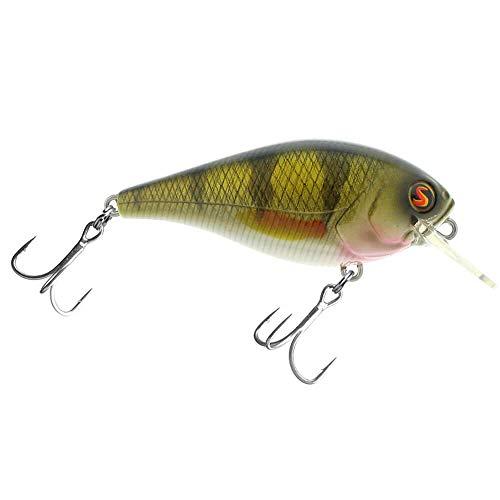 Biggie 440441467Rattle–Fast Floater–Wobbler/Crankbait + + Pro de pesca cebo de los Estados Unidos + +, Real Perch