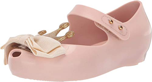 mini melissa Girl's Ultragirl Princess Bow Me B (Toddler/Little Kid) Pink/Beige 10 Toddler M