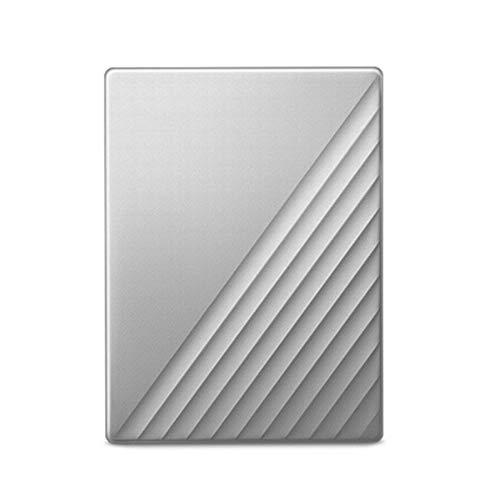 YRX Disco Duro Externo De 4TB 2TB HDD Disco Duro De 2.5'Ultra Encryption HDD,Plata,4T