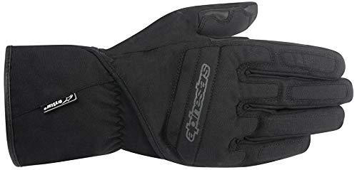 Motorcycle Alpinestars SR-3 Drystar Gloves WP Black