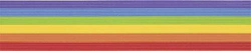 Knorr Prandell 218306063 Wachsstreifen Sortiment 200 mm Durchmesser 1 m, regenbogen
