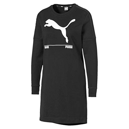 PUMA Damen Nu-tility Dress Kleid, Black, M