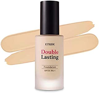 ETUDE HOUSE New Double Lasting Foundation (Neutral Beige) SPF35/ PA++  High Coverage Weightless Foundation   24-Hours Last...