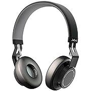 Jabra Move Cuffie Sovrauricolari, Wireless, Bluetooth, Microfono Omni-Direzionale, Nero
