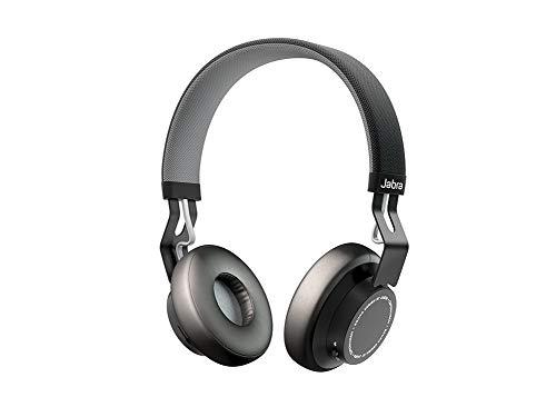 Jabra Move Wireless Stereo on-Ear-Kopfhörer (Bluetooth, kabellos Musik hören und telefonieren) schwarz