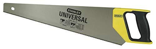 Preisvergleich Produktbild Stanley Universal Handsäge HP (550 mm Länge,  7 Zähne / Inch,  Universal-Hardpoint-Verzahnung,  DynaGrip Handgriff) 1-20-009
