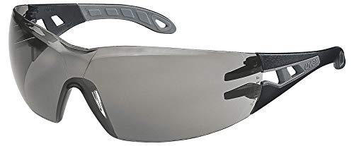 Uvex Pheos Schutzbrille - Supravision Excellence - Getönt/Schwarz-Grau