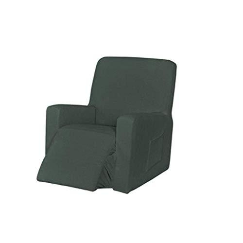 DSDD Funda Antideslizante para sofá, Fundas Completas elásticas para sofá, Fundas para sofá Lavables a máquina Jacquard con sillón para niños, Funda para sofá-A