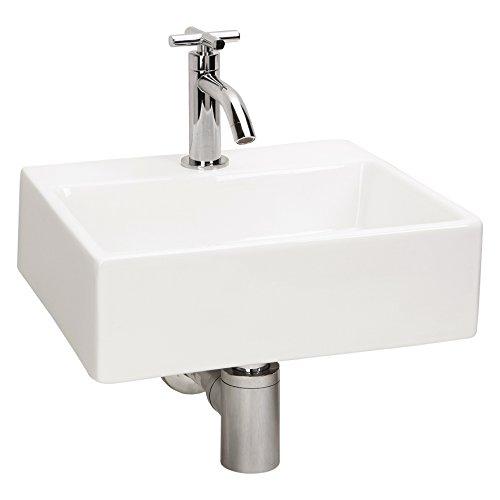 Differnz Argus 38.001.00 - Lavandino in ceramica, Bianco (Blanc)