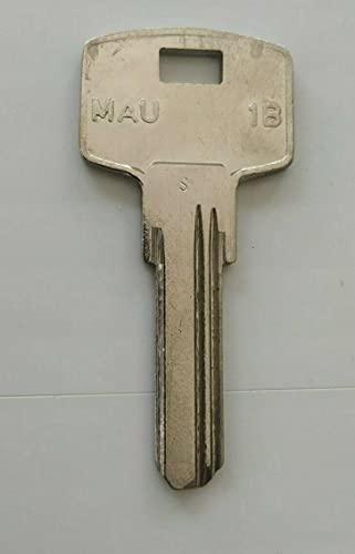 Güler MAU-1B - Llave en bruto E2A para cilindro de perfil europeo MAUER