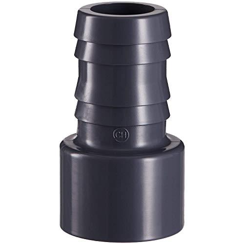 well2wellness® PVC Druckschlauchtülle mit Klebeanschluss 50 x 38 mm (107032)