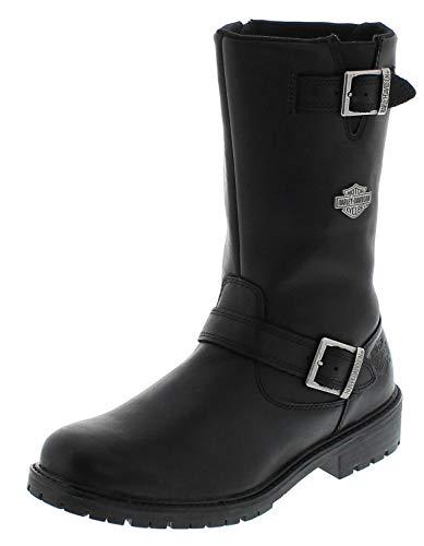 FB Fashion Boots D93261 Randy - Stivali da Motociclista, da Uomo, con Scarpa, Nero (Nero), 46 EU