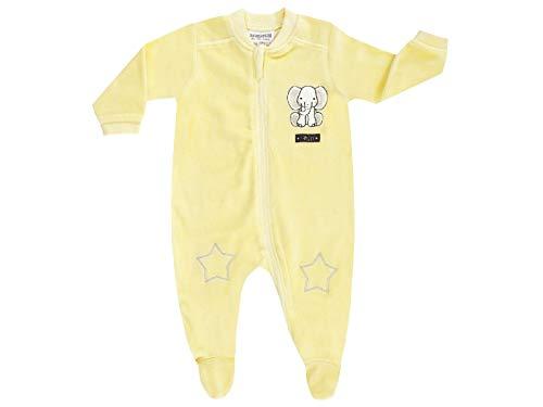 Schlafanzug für kleine Mädchen und Jungen gelb (44)