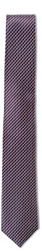 Roy Robson Herren Elegante 100% Seide 6 cm Business Krawatte, Rot 955