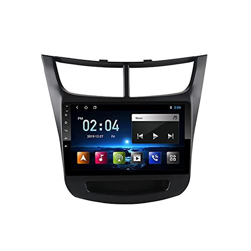 MGYQ Android 10.0 Radio Estéreo Coche Compatible, para Chevrolet Sail 2015-2018 GPS Navigator Doble DIN Unidad De Cabezal Soporte FM WiFi USB 1080P Video Bluetooth SWC,Octa Core,4G WiFi 4+64