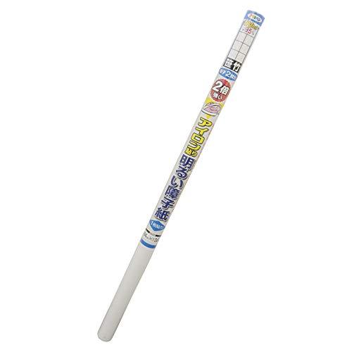 Asahipen 障子紙 2倍強い明るいアイロン貼り障子紙 UVカット約95% 6413 笹竹 94cm×3.6m 一枚貼り