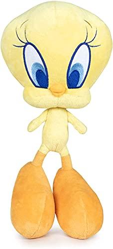 Looney Tunes Kuscheltier versch. Plüsch Figuren 32-40cm Stofftier (Tweety)