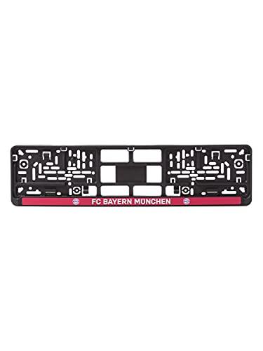 FC Bayern München Kennzeichenverstärker FC Bayern schwarz/rot
