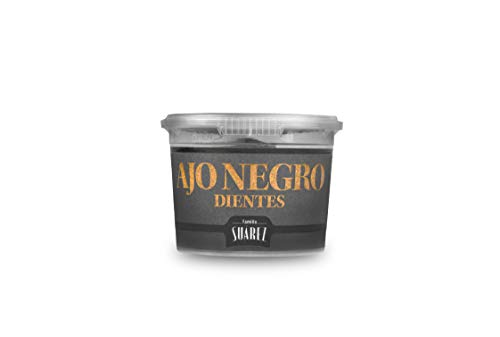 Ajo Negro - Diente Pelado - Familia Suárez - Tarrina 65g