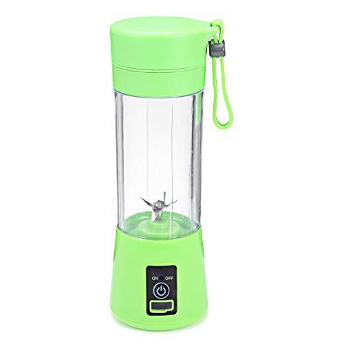 Buy Discount 400ML Portable 4-Blade Juicer Electric Rechargeable Smoothie Machine Mixer Mini Juice C...