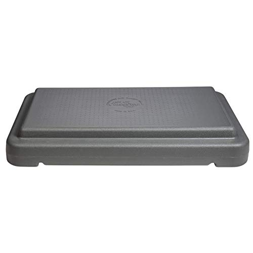"""The Step 4"""" Stackable Aerobic Exercise Platform with Non-Slip Surface and Nonskid Feet"""