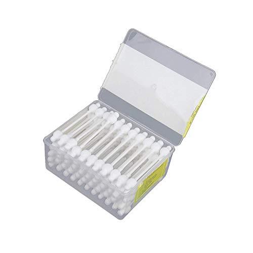 TrifyCore 55pcs / Box Baby-Sicherheits-Tupfer Antibakterielle Baumwolltupfer für Infant Baby / Kinder / Erwachsene