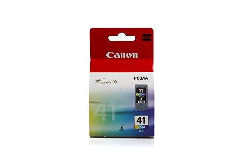 Originale Canon 0617B001 / CL-41 cartucce d'inchiostro (cmy, capacità 12 ml) per Pixma IP 1200, IP 1300, IP 1600, IP 1700, IP 1800, IP 1900, IP 2200, IP 2500, IP 2600, IP 6210, IP 6220, MP 140, MP 150, MP 160, MP 170, MP 180, MP 190, MP 210, MP 220, MP 450, MP 460, MX 300, MX 310