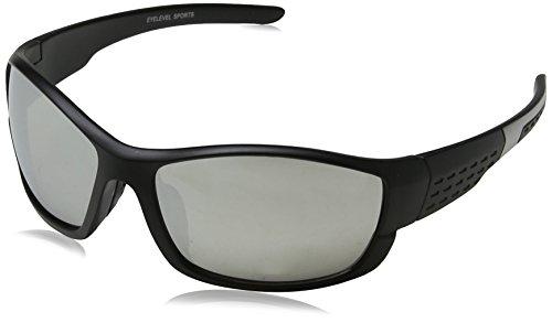 Eyelevel Galaxy Gafas de sol, Negro (Black/grey/Grey Mirror), 60 para Hombre
